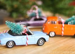 note diy car ornaments