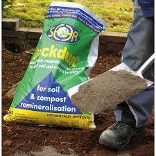 rockdust garden minerals 20kg the garden factory