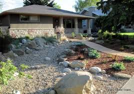 calgary garden coach on mixing rock and bark mulch