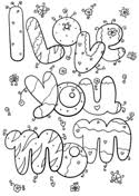 i love you mom and dad coloring page free printable coloring pages