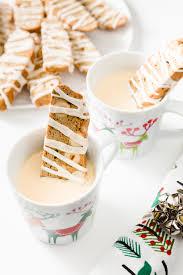 eggnog latte biscotti cupcake project