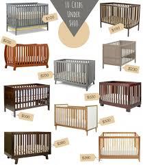 ten modern cribs under 400 buymodernbaby com