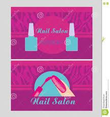 nail artist business card or nail salon business card calling