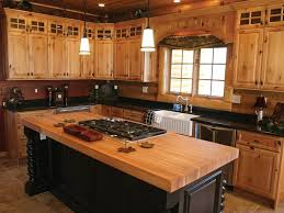 Log Cabin Home Decor Log Cabin Kitchen Ideas Genuine Home Design