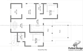 969 sq ft beautiful home design u2013 kerala home design