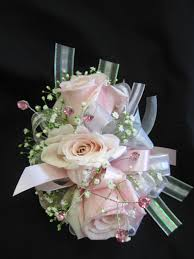 pink corsage pay up pink and white corsage flowers from the heart