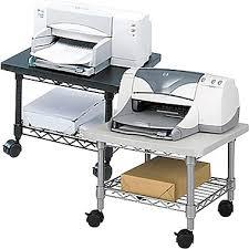 sous le bureau safco support pour imprimante télécopieur sous le bureau staples