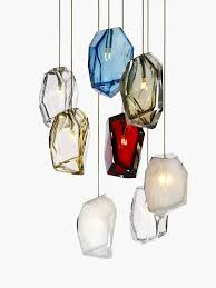 custom blown glass pendant lights lighting design alluring custom hand blown glass pendant lights
