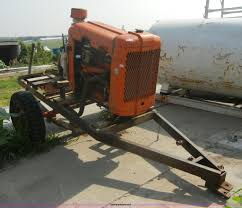 red seal portable irrigation pump engine item 2375 sold