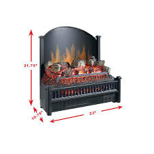electric fireplace logs with heater lowes no duraflame log set