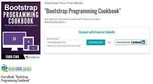 membuat website bootstrap download ebook membuat desain web sendiri dengan bootstrap