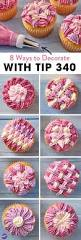how to decorate cupcakes at home learn 8 ways to decorate cupcakes with wilton tip 105 youtube