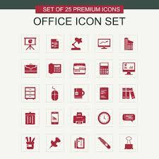 telecharger icone bureau bureau d icônes ensemble icône bureau ensemble png et vecteur