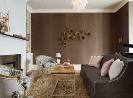 wohnzimmer in braun und weiss natürliche farbgestaltung in erdtönen wohnzimmer in braun