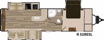 cougar travel trailerloor planslooring keystone 279rkswe opennge