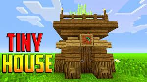 miner house small compact easy minecraft how to build a