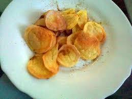 cuisiner sans graisse recettes recette de chips sans matiere grasse au four