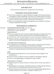 Qualifications In Resume Examples Sample Resume Summary Of Qualifications Resume Sample Resume