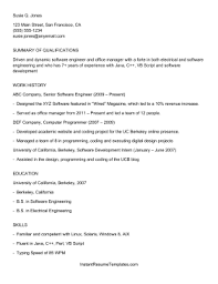 ats applicant tracking system resume template