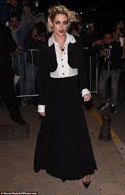 Vanity Row Clothing Kristen Stewart Channels Her Inner Vampire At Vanity Fair U0027s Cannes