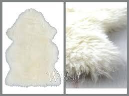fur chair cover fur chair cover genuine sheepskin rug white wool ivory throw chair
