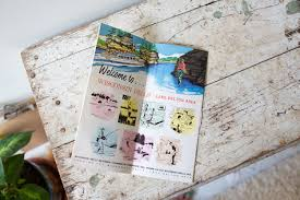 Wilderness Wisconsin Dells Map by Vintage Wisconsin Dells Map Tourist Map Lake Delton Directory