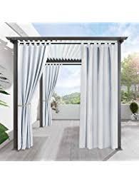 Outdoor Canvas Curtains Outdoor Curtains Patio Lawn Garden