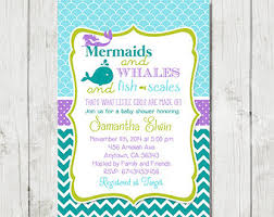 mermaid baby shower mermaid baby shower invitation theruntime