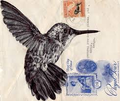 Where Does Stamp Go On Envelope Mark Powell Reuses Old Antique Envelopes To Create Amazing Biro