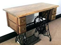 sewing machine table ideas old sewing machine table ideas desks sewing machine singer treadle