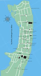 get your san pedro belize map from boaz golf cart rentals