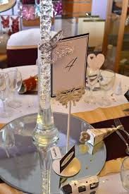 Vintage Table Number Holders Wedding Chair Cover Hire