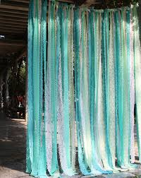 Teal Nursery Curtains Purple Lace Photography Props Wedding Baby Shower Backdrop Nursery