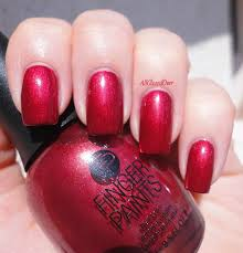 fingerpaints nail color framed in red nails pinterest färger