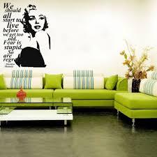 aliexpress com buy 3d poster wall stickers marilyn monroe wall