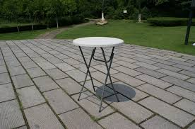Folding Bar Table Outdoor Bar Set High Table Folding Plastic Table With Fold Up Legs Steel