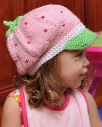 Strawberry Shortcake Halloween Costume Strawberry Shortcake Hat Crochet Knit Crochet Knit Hats