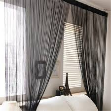 online get cheap string curtains aliexpress com alibaba group 2m 1m string curtains door window panel line curtain divider yarn curtain strip tassel drape decor for living room kitchen