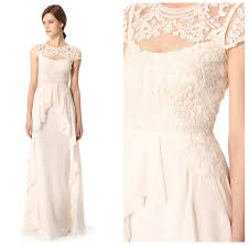 Temperley Wedding Dresses Dress Of The Day Temperley London Bluebell Dress U2014 The Excited