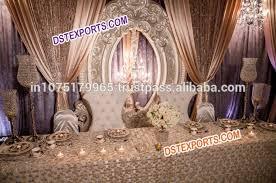 wedding backdrop panels wedding stage royal backdrop design oval frame for wedding