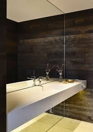 bathroom ceiling ideas bathroom mirror ideas fill the whole wall contemporist