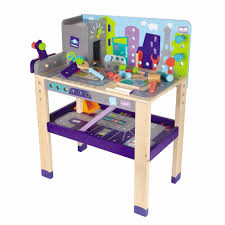 Toy Wooden Tool Bench Educational Toys For 2 Year Olds Girls Boys Children Wooden Work