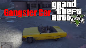 scarface cars gta 5 rare gangster car location 2 youtube