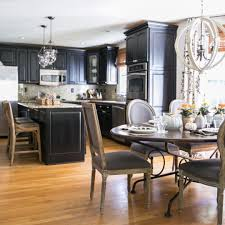 modern black kitchens 24 black kitchen cabinet designs decorating ideas design