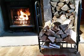 steel log basket fire wood store rack fireplace basket indoor