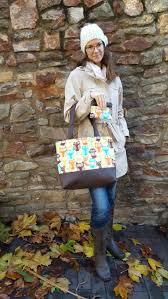 owl shoulder bag norshi handmade bag purse - Owl Shoulder