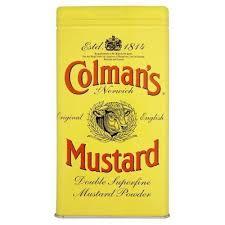 colman mustard colmans mustard tin ebay