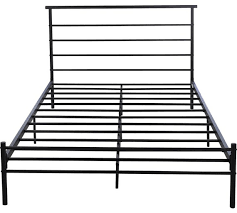 buy home avalon double bed frame black at argos co uk your