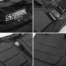 motorcycle vest speed and strength true grit armored motorcycle vest