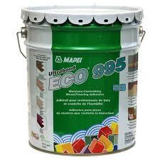 mapei ultrabond eco 995 wood flooring adhesive 5gal 954101164